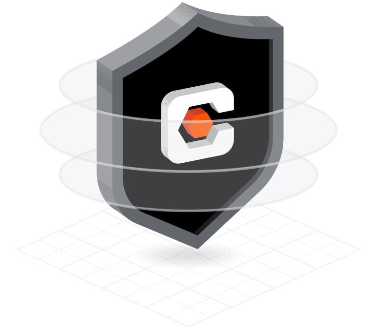 Procore security badge illustration