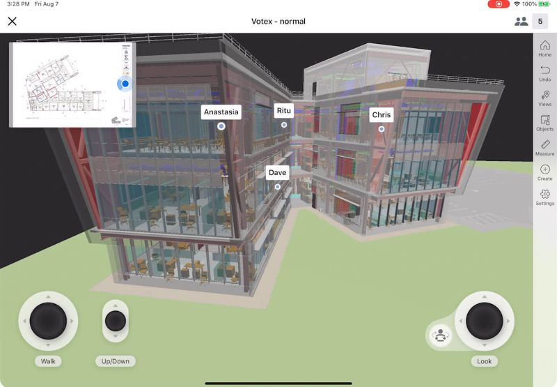Procore BIM screen