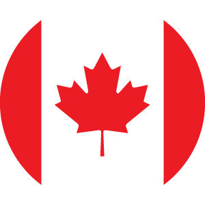 Flag Icon of Canada (English)