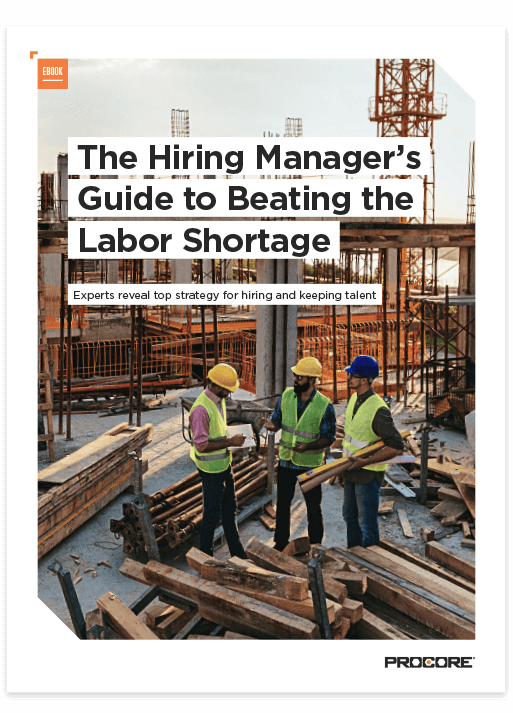 Cover of The Hiring Manager's Guide to Beating the Labor Shortage Ebook