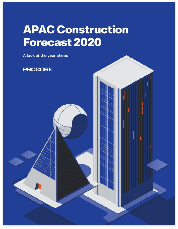 Construction forecast 2020 cover page