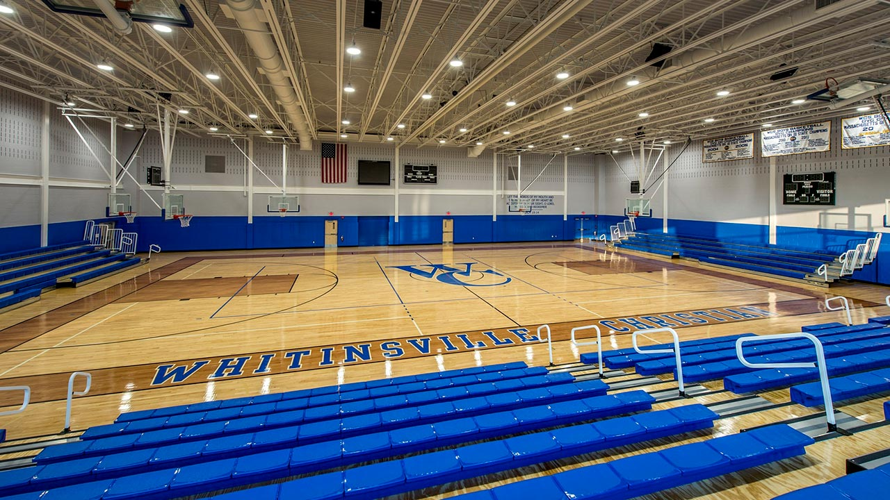 High school gym built by JM Coull