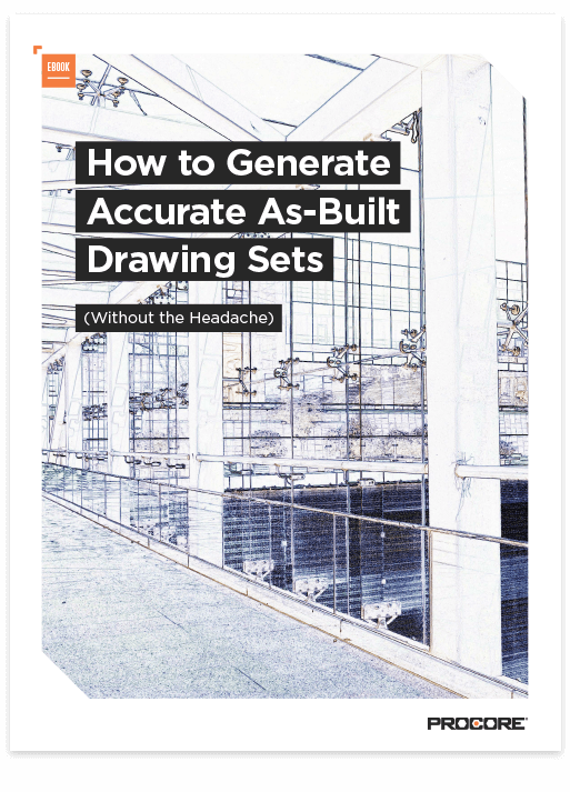 Cover of How To Generate Accurate As-Built Drawing Sets Ebook