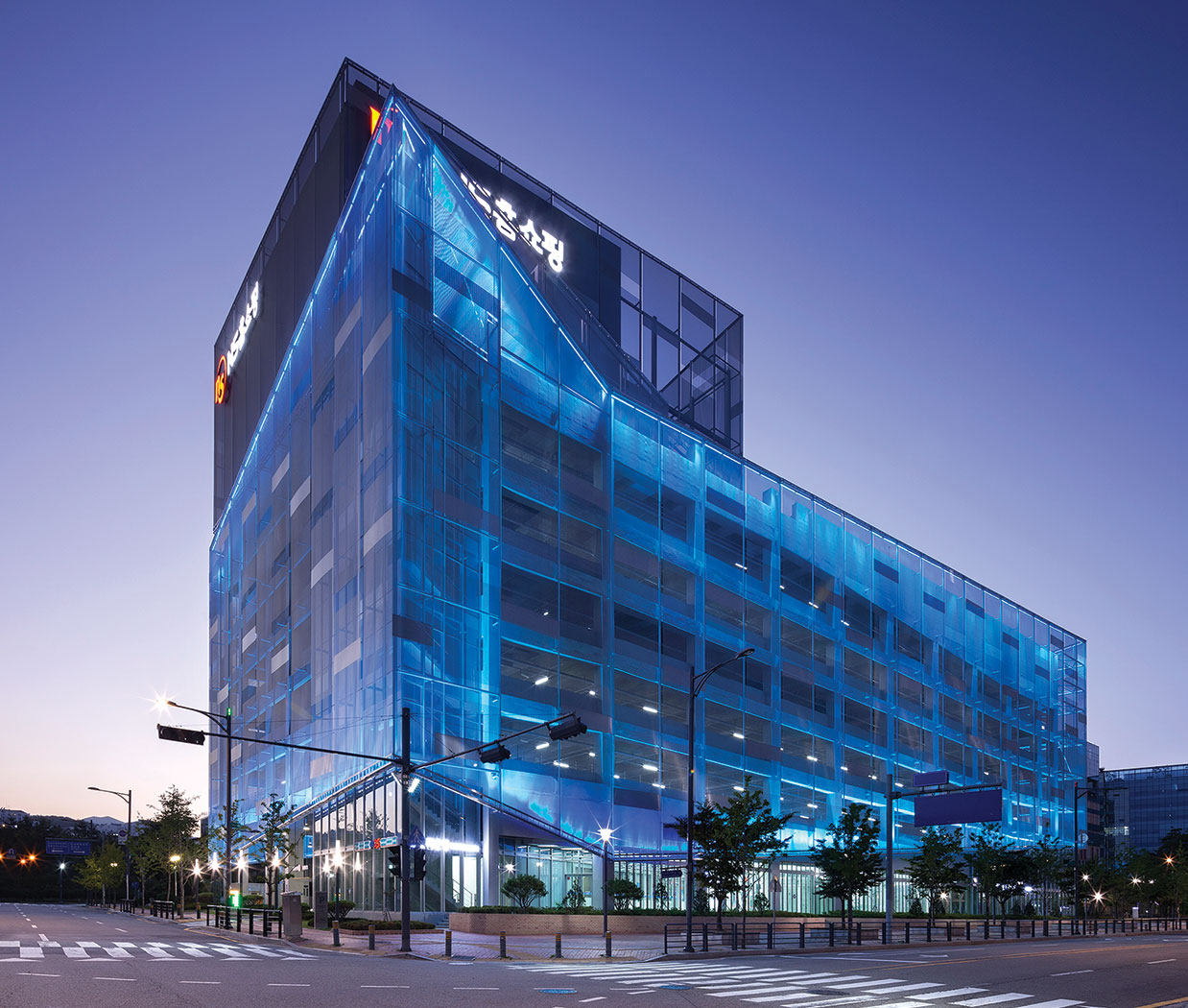 Large hotel in Korea built by Beck Group