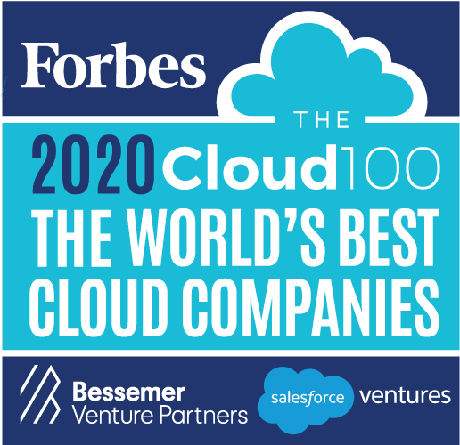 Forbes Cloud 100 award logo