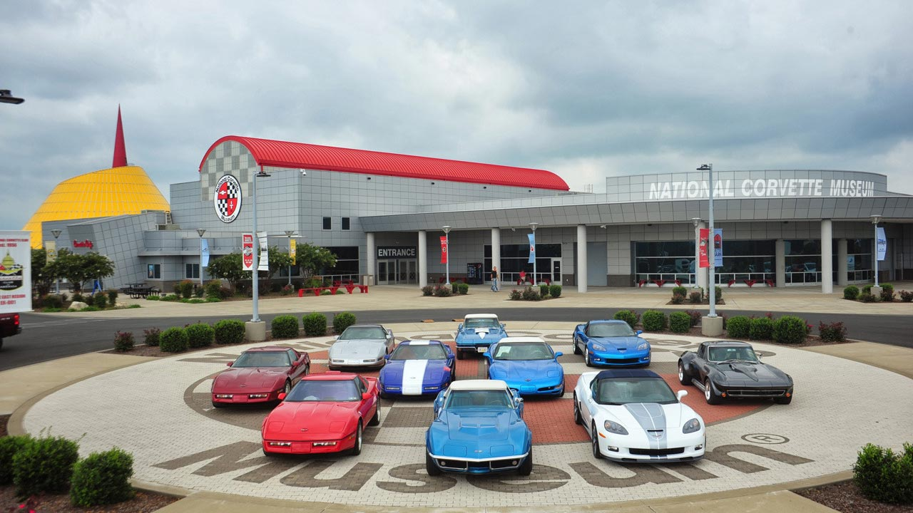National corvette museum by Green Mechanical