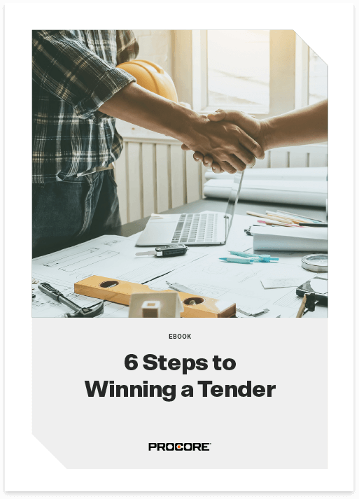 6 steps to winning a tender ebook cover page