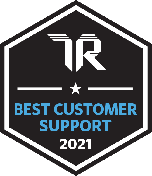 Best Customer Support award logo
