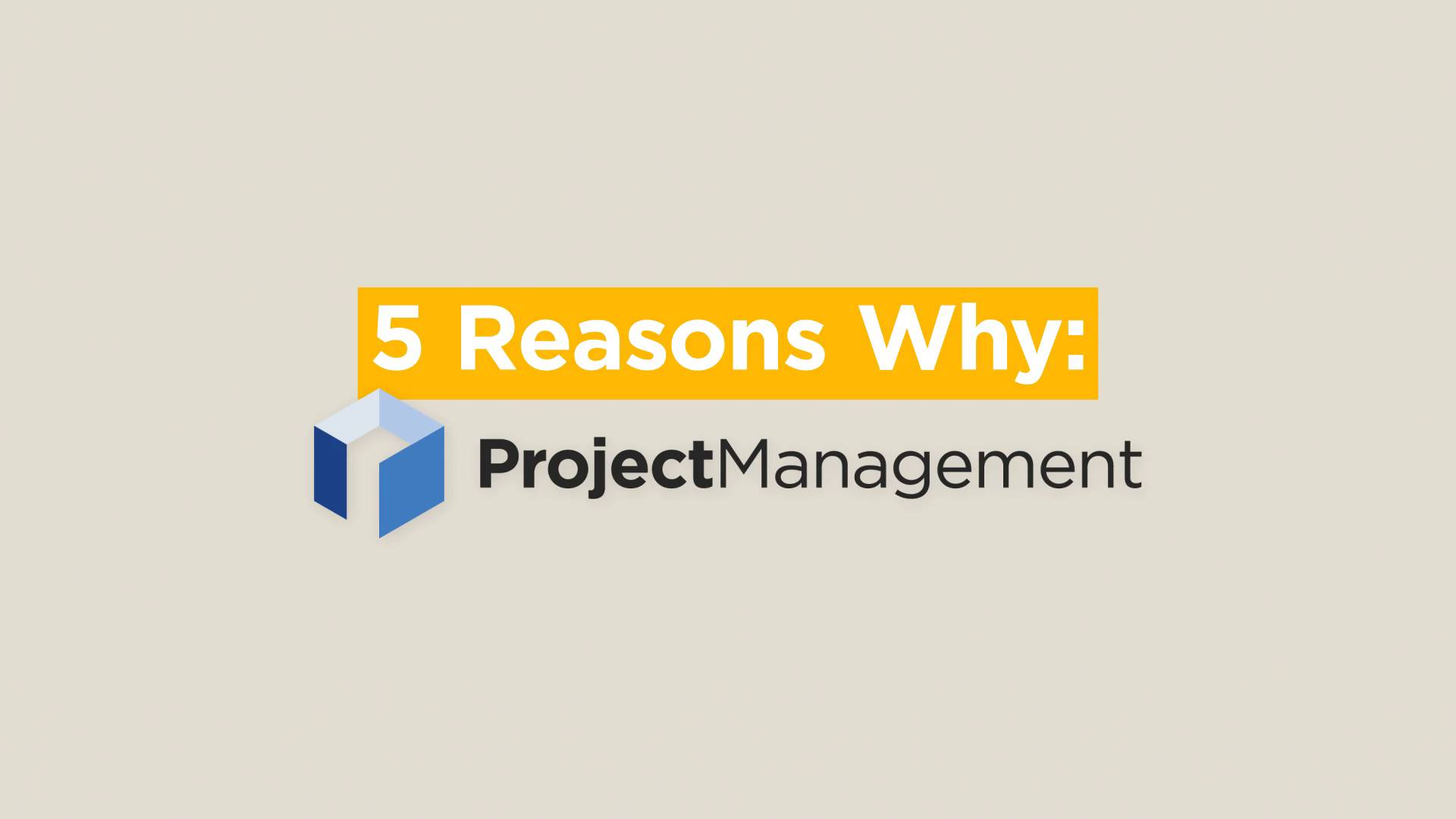 Thumbnail for 5 Reasons Why: Project Management